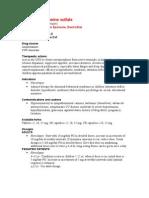 Dextroamphetamine Sulfate