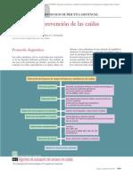 14.011 Valoración y prevención de las caídas en Geriatría