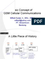 Basic Concept of GSM Cellular Communications