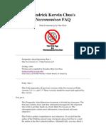 Dan Clore Kendrick Kerwin Chua's Necronomicon FAQ