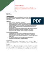 Methylphenidate Hydro Chloride