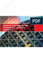 2011_Advanced Technology for High Performance & Low Power Applications