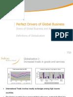 Drivers of Globalizations Unit I