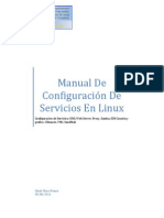 Configuaración de Servicios-Fedora14