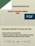 Aplikasi Maxwell Boltzmann