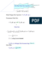 Fungsi Diri Dan Nilai Diri Operator L2 ( fisika kuantum )