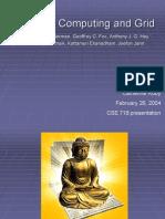 Autonomic Computing and Grid