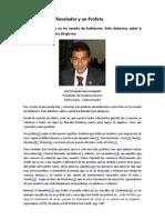 Un Vidente; un Revelador y un Profeta – Fernando Vera