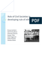 Role of Civil Societies