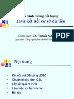 b09 LTHDT Java Ket Noi Co So Du Lieu