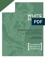 White Paper Assessment Sept 2007