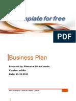 Business Plan Template 1.0