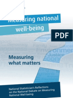 Measuring National Well-Being