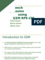 Speech Compression Using GSM