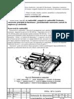 Sistemul de alimentare a motorului cu carburator