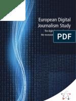 European Digital Journalism Study Septemeber09