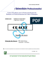 Copy of Cours d'Oracle