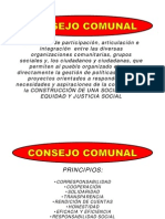 Consejo Comunal Introduccion