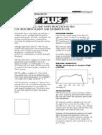 Ilford HP5 Plus Spec Sheet