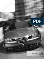 Alfa 166 Brochure