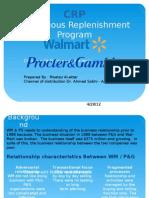 CRP Walmart & Procter and Gambel