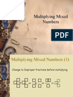 Multipying Mixed Numbers