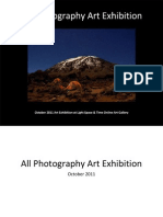 All Photography Art Exhibition Event Catalog
