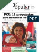El Popular N° 161 - 21/10/2011