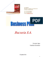 Bucuria Business Plan