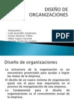 Diseño de Organzaciones