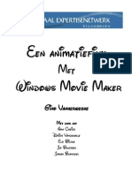 animatiefilm met Windows Movie Maker