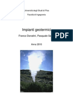 Energia Geotermica - Dispense Donatini