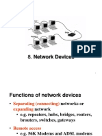 8 Network Devices
