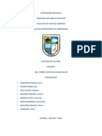 Evaluacion de 12 Ecotipos de Frutos de Lucuma
