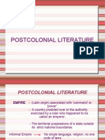 Post Colonial Literature(1)