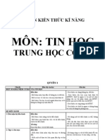 Chuan Kien Thuc Ki Nang Tin Hoc THCS 2010