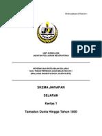 skema sej 1 Perak 2011