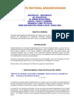Proyecto Pastoral Arquidiocesano 2008