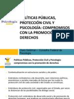 Políticas Públicas, Protección Civil Y Psicología