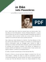Trân Dân, Carnets Poussières (présentation et traduction par Doan Cam Thi)