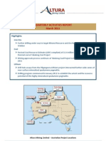 2011 04 29 Quarterly Activities Report Mar Qtr 2011 FINAL Circ
