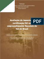 Avaliacao de Impacto Da Certificacao FSC Em Empreendimentos Florestais Do Sul Do BR1