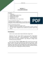 Modul 2 Analisis Perancangan Sistem Informasi - Analisis Sistem