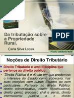 Da tributação sobre a Propriedade Rural..ppt 2010