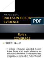 Rules on Electronic Evidence(Rules 1&2)