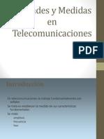 Medidas de Las Telecomunicaciones