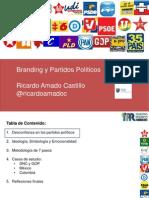 Branding de Partidos Políticos - Por Ricardo Amado Castillo