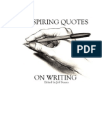 Inspiring Quotes on Writing