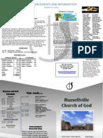 New Bulletin 2011