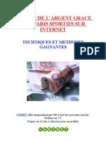 eBook Paris Sportifs - Gagner de l'Argent en s'Amusant